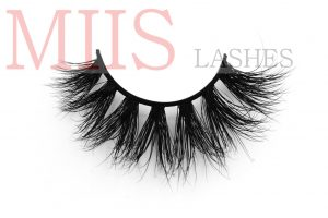 clear band lashes